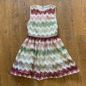 Alice + Olivia high neck dress size 4